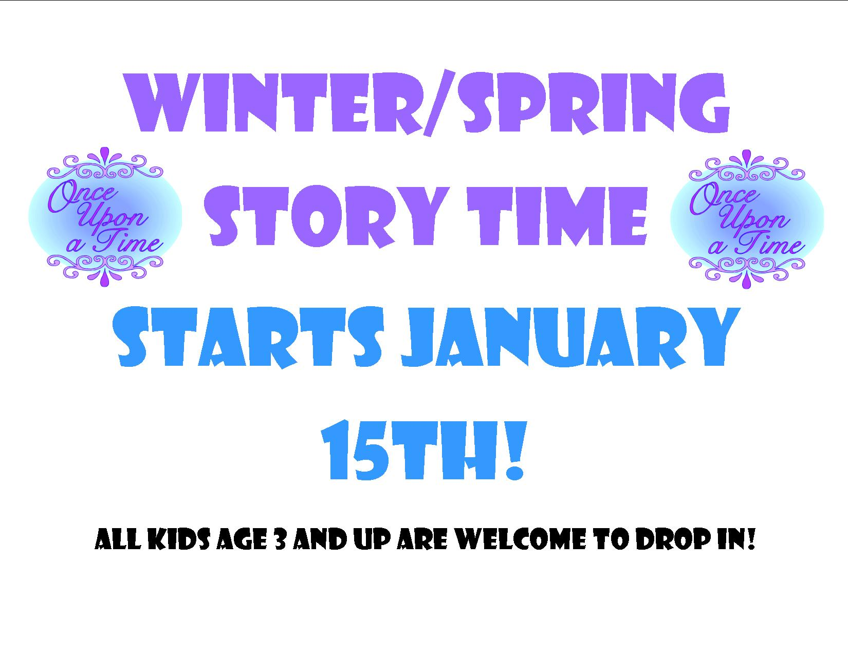 winter spring st 2014sign