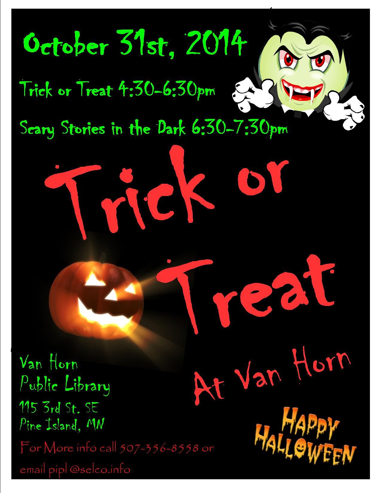 Halloween 2014 flyer