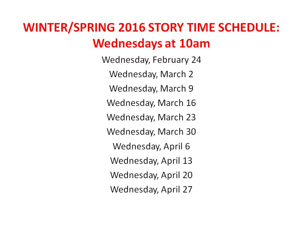 winter_spring story time 2016