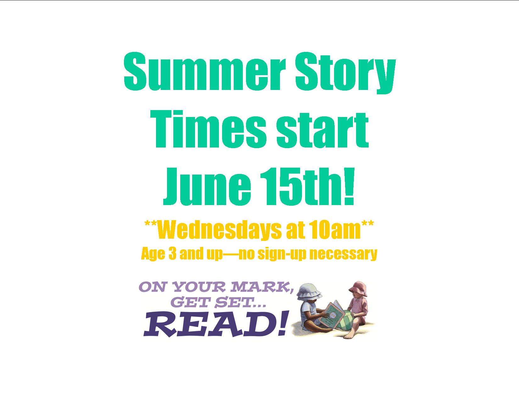 story time sign SRP 2016