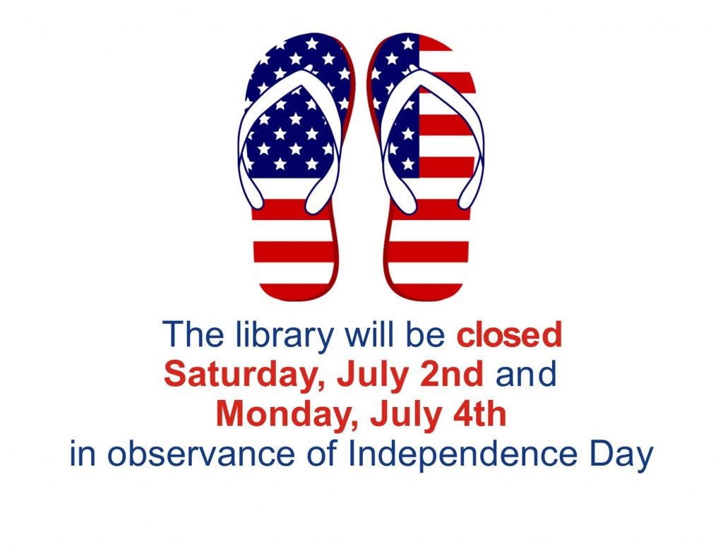 Library Closed for Holiday