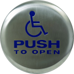 Automatic door button image